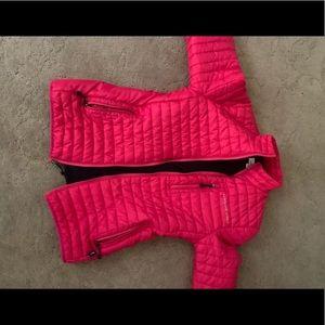pink vineyard vines jacket size women's XXS